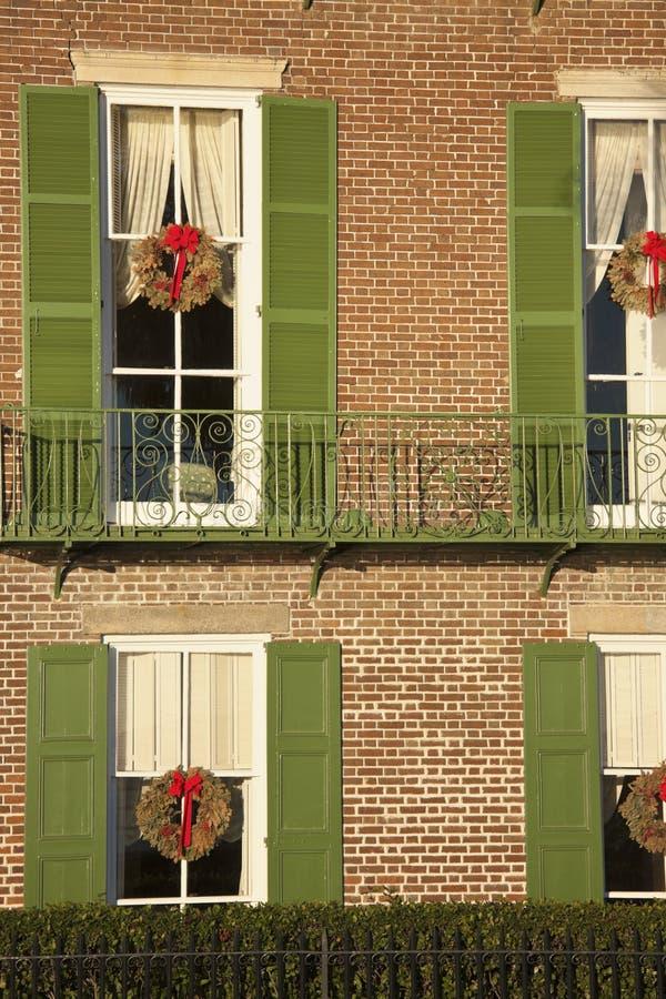 W Charleston historyczny dom fotografia stock
