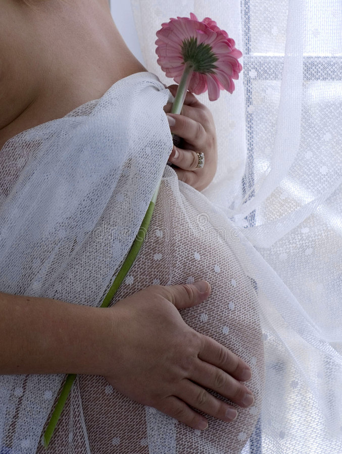 w ciąży zdjęcia stock