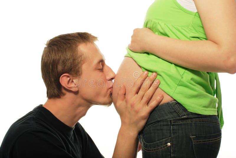 w ciąży zdjęcie stock