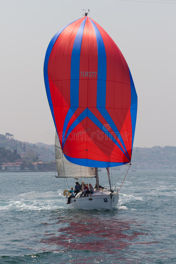 Download W Collection Sailing Cup Bosphorus 2011 Editorial Photo - Image: 19993711