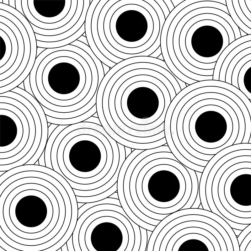 w czarne kropki ilustracji