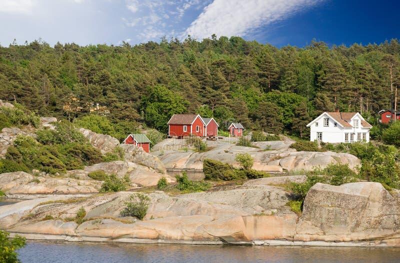 w domu Norway fotografia stock