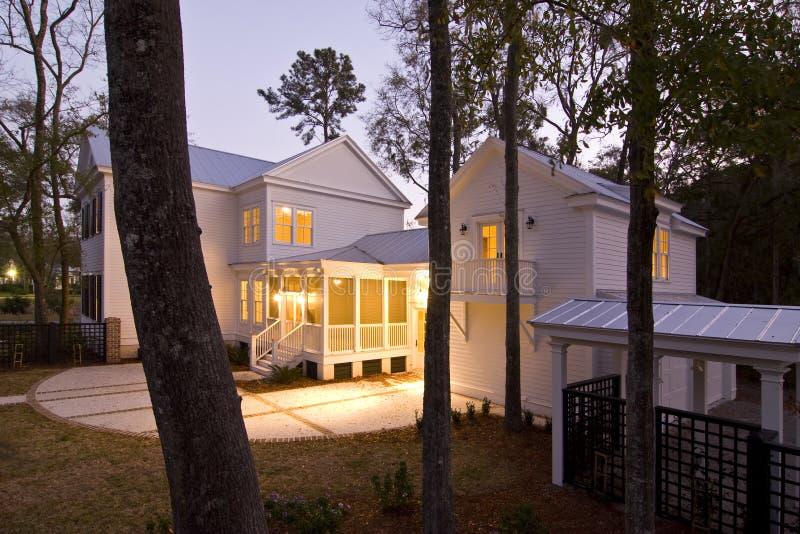 w domu patio słońca zdjęcie stock