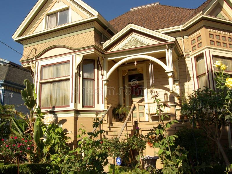 w domu San Jose wiktoriańskie obraz royalty free