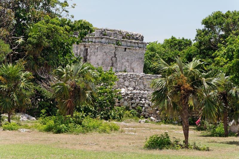 w domu Tulum Yucatan rujnuje Meksyk zdjęcia royalty free