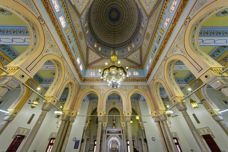 W Dubaj Uroczysty Jumeirah Meczet, UAE zdjęcie stock