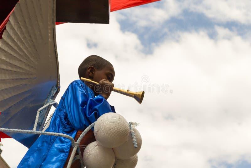 W Etiopia Timkat świętowanie zdjęcie stock