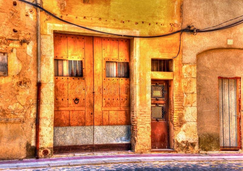 W Figueres w Hiszpania zdjęcie stock