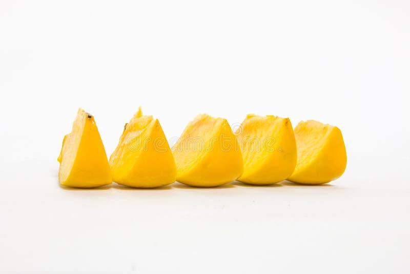 w górę biel zamknięty tła persimmon fotografia royalty free