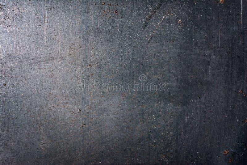 W górę szarego grunge metalu tekstury tła fotografia royalty free