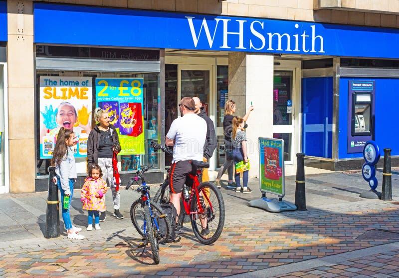 W H Smith logo royalty free stock photo
