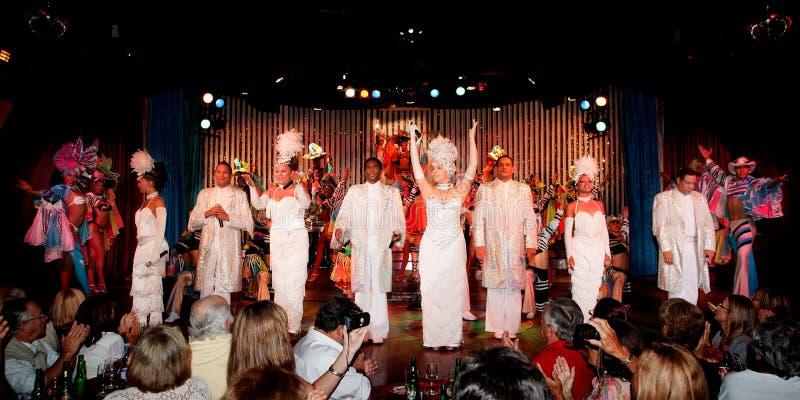 W Havana kabaretowy Parisien obraz royalty free