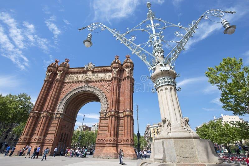 w Hiszpanii zdjęcie stock