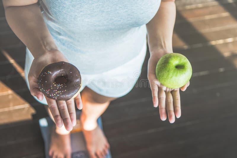 W?hlen Sie eine rechte Wahl f?r gute Gesundheit lizenzfreie stockfotos
