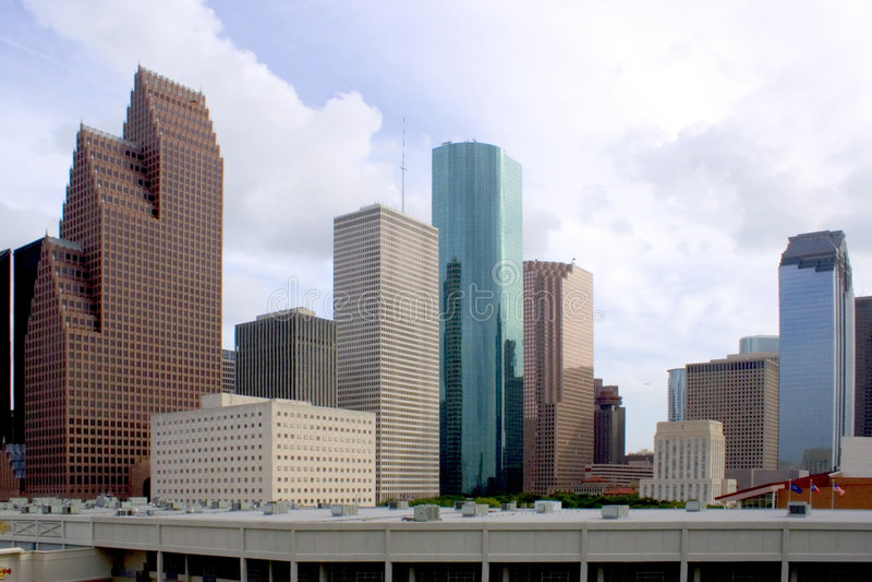 w Houston. obraz stock