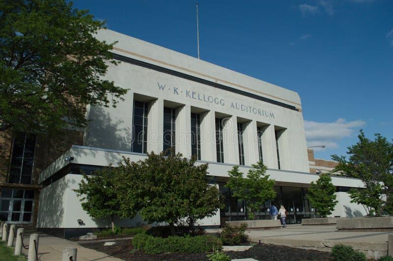 W.K. Kellogg Auditorium royalty free stock photos