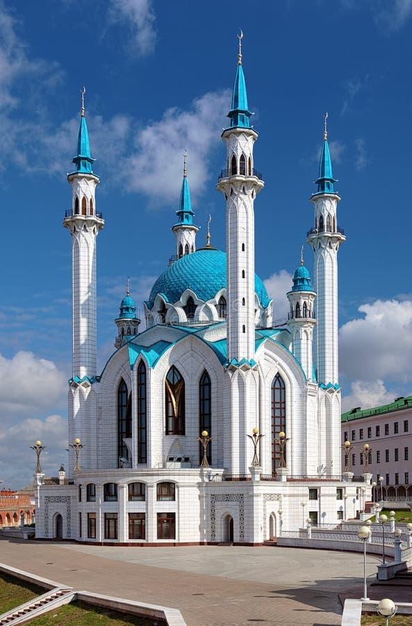 W Kazan Qolsharif Meczet Kremlin obraz stock