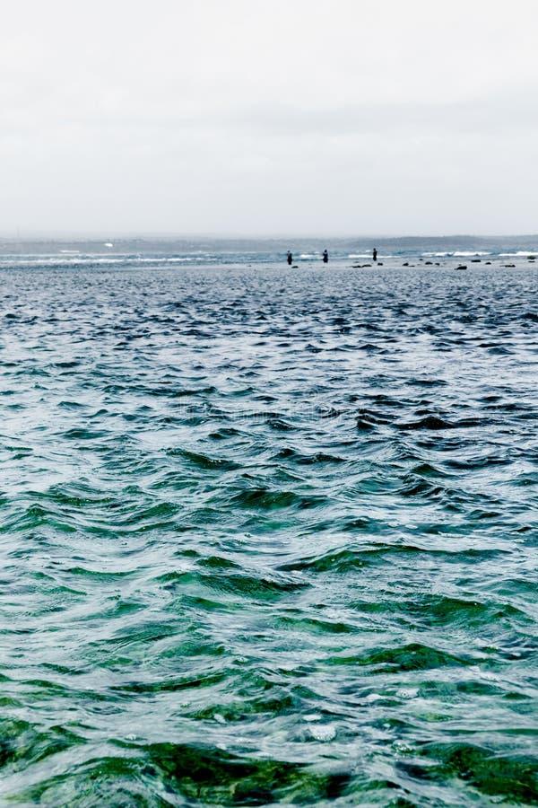W kierunku trzy rybaka zdjęcia royalty free