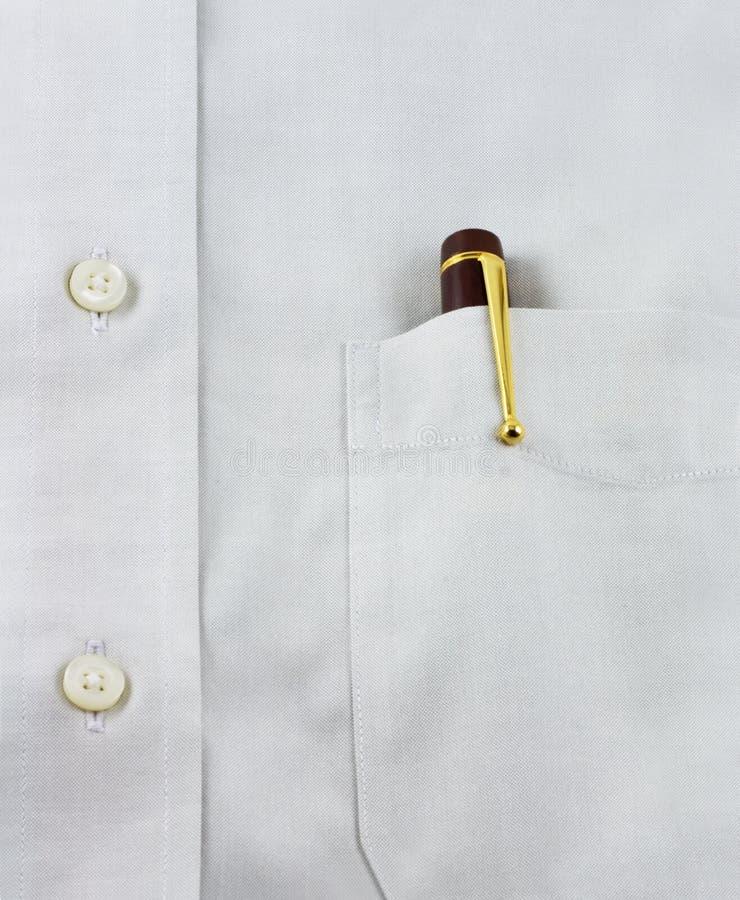 w kieszeni długopis zdjęcia stock