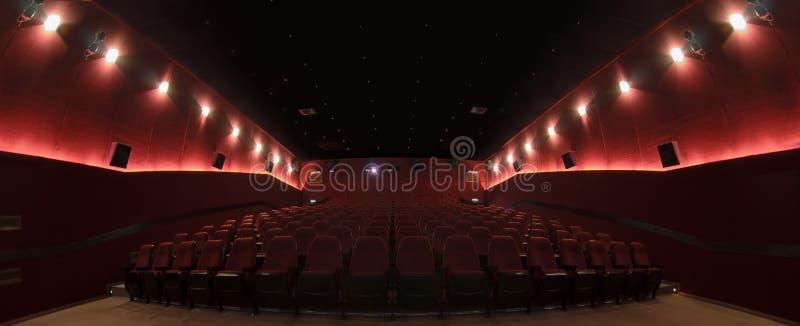 W kinowej sala obraz royalty free