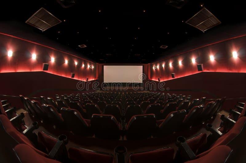 W kinowej sala obraz stock
