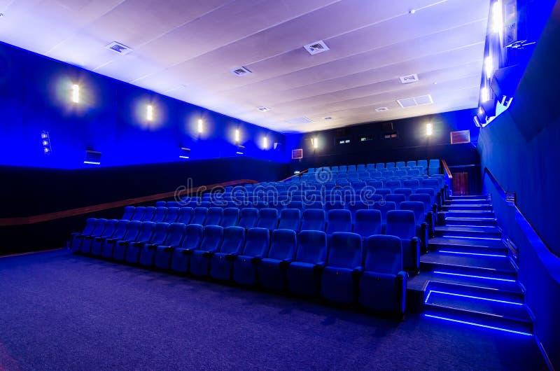 W kinowym teatrze obrazy stock