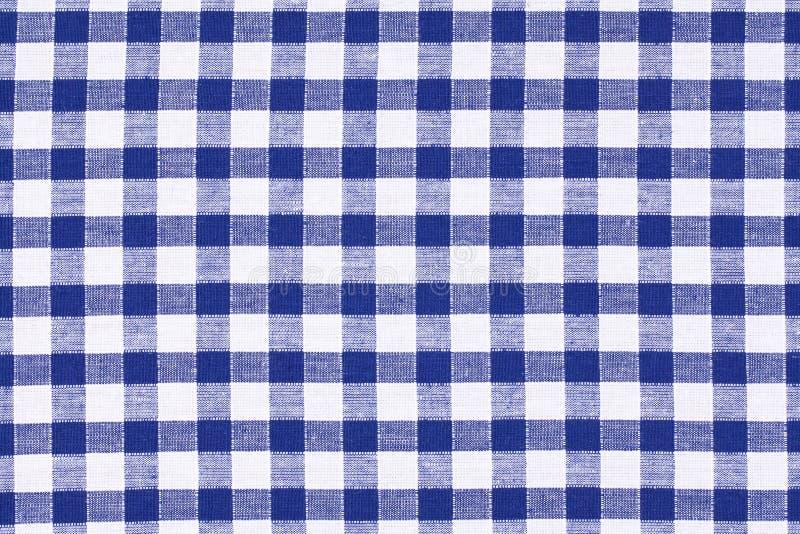 w kratkę tablecloth obraz royalty free