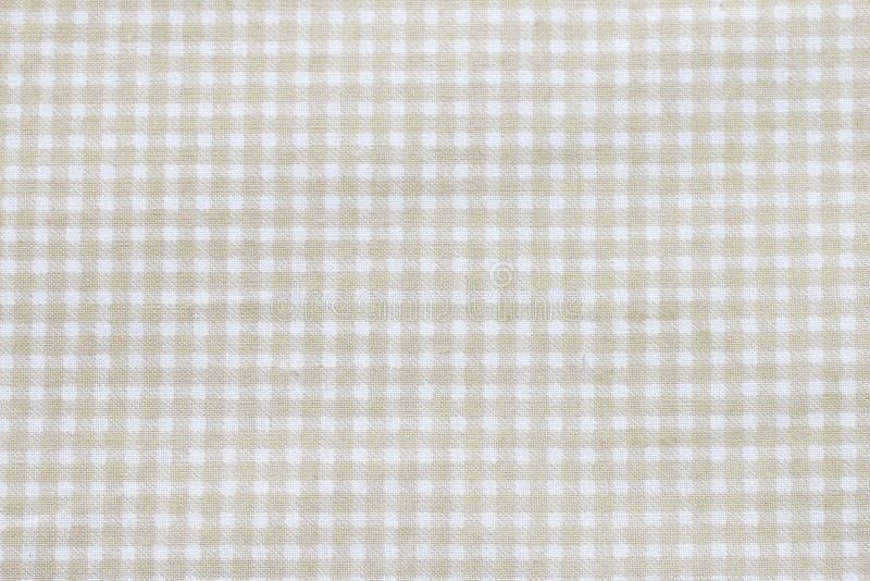 W kratkę tablecloth wzór zdjęcie royalty free