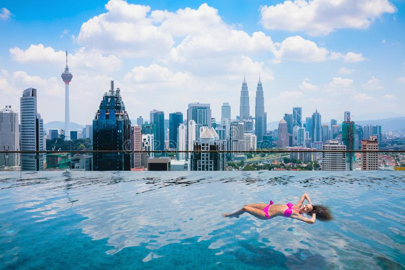 w Kuala Lumpur obraz royalty free