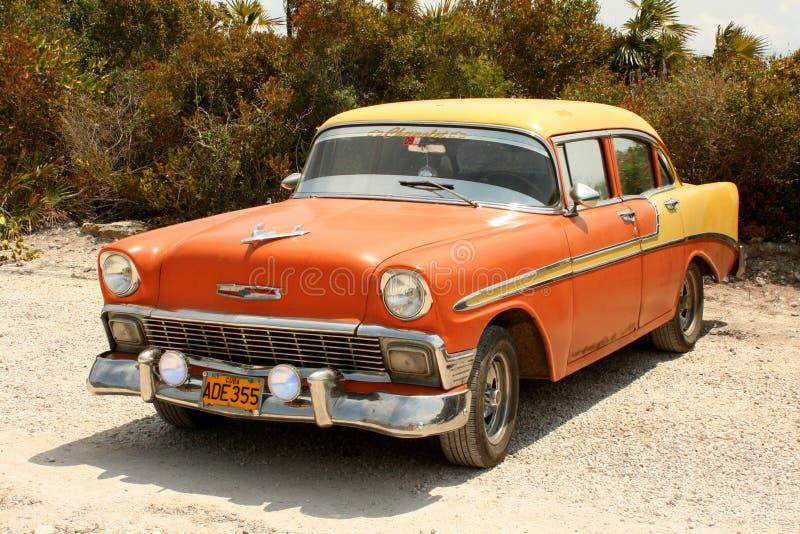 W Kuba klasyczny Amerykański Samochód zdjęcie royalty free