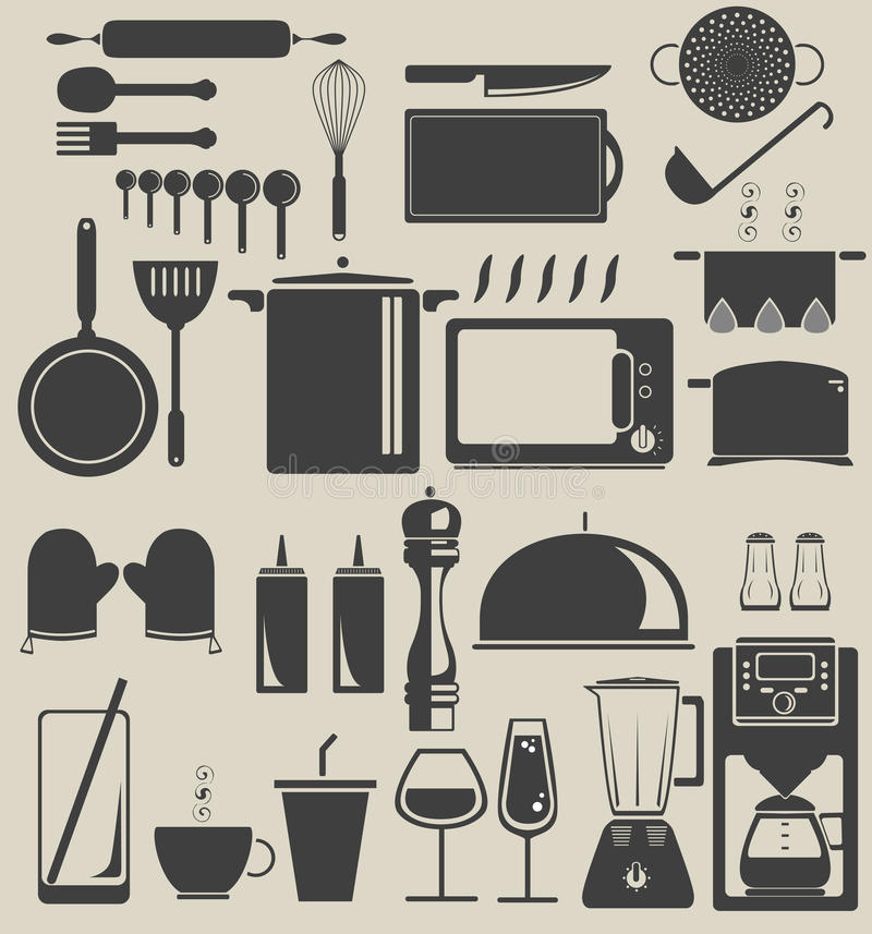 W kuchni ilustracji