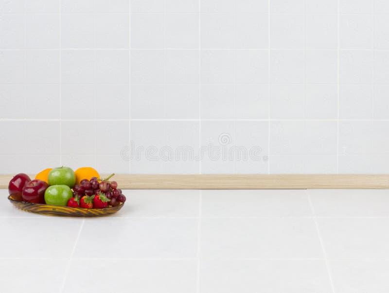 W kuchni pusta przestrzeń obrazy royalty free