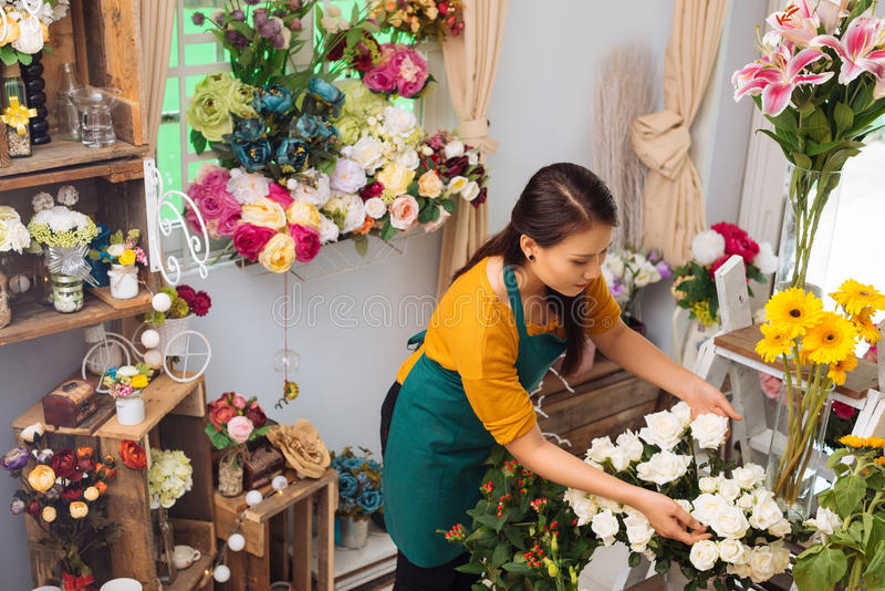 W kwiatu sklepie obraz stock
