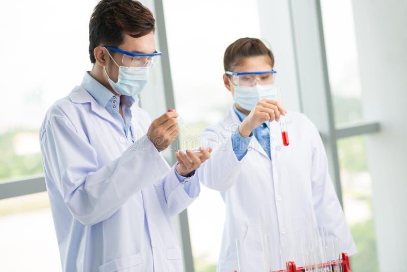 W lab środowisku obraz stock