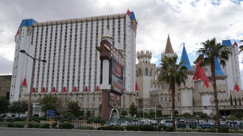 W Las Vegas Excalibur Kasyno Hotel i, Nevada fotografia royalty free