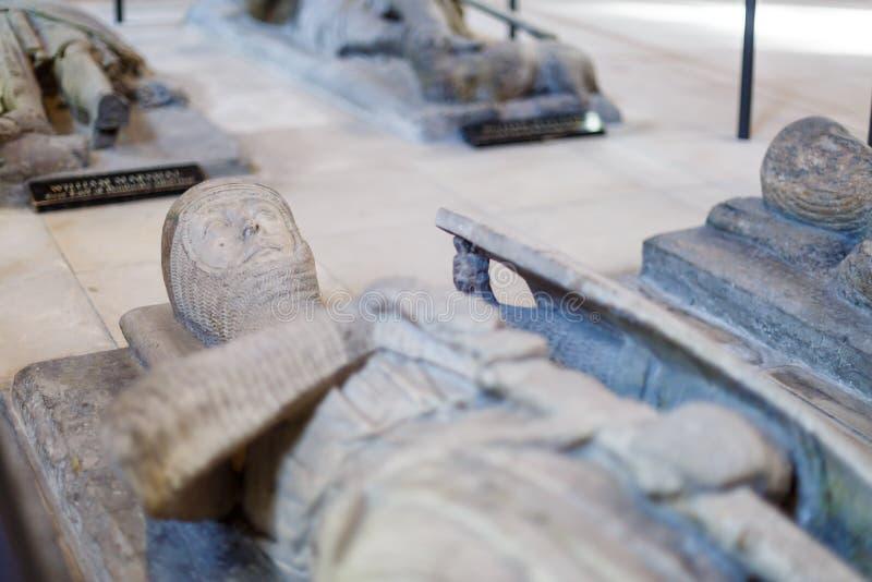 W Londyn świątynny Kościół obraz stock