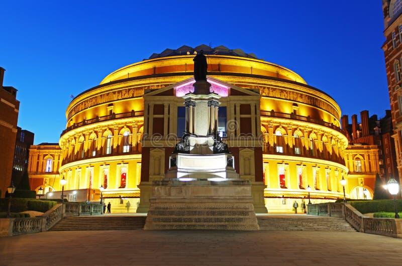 W Londyn Królewski Albert Hall obrazy stock