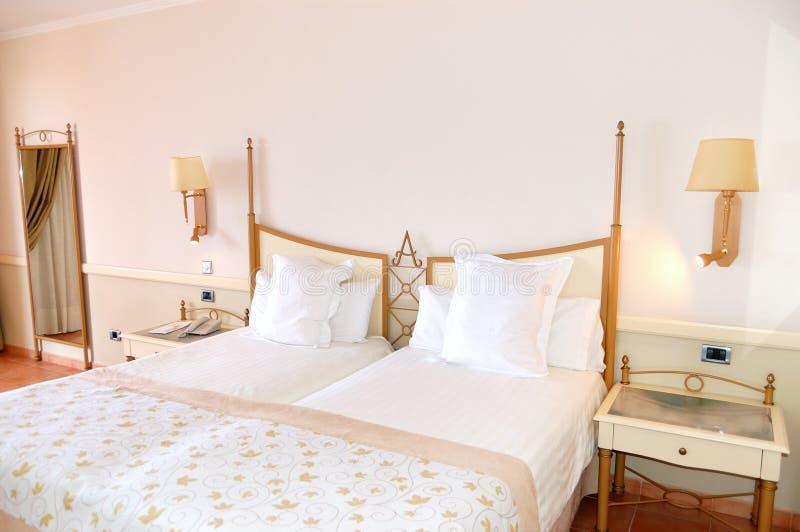 W luksusowym hotelu mieszkania wnętrze obrazy royalty free
