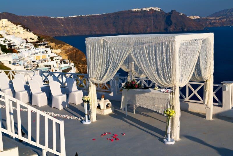 w małżeństwo ceremonii fotografia stock