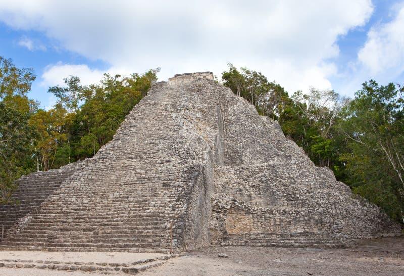 W Meksyk Majskie Kabah Ruiny obraz stock