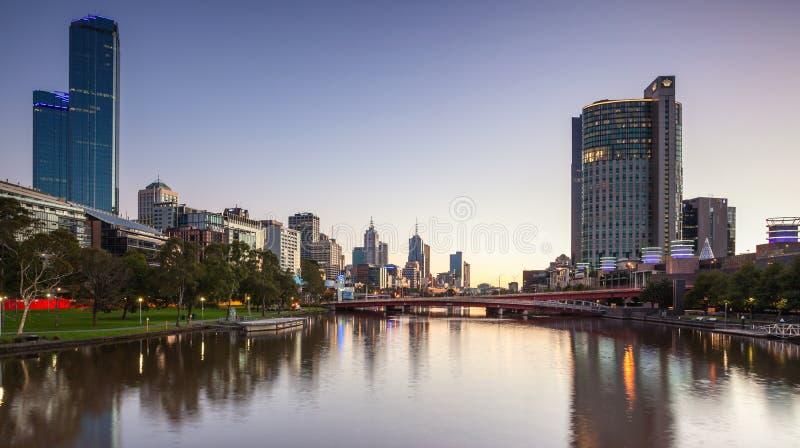 W Melbourne korony Kasyno obraz royalty free