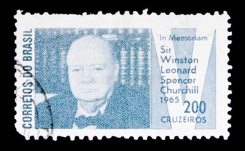 W Memoriam Sir Winston Churchill, seria, około 1965 obrazy stock