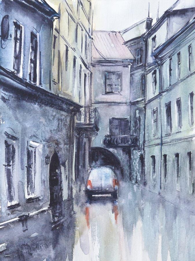 W mieście ilustracji