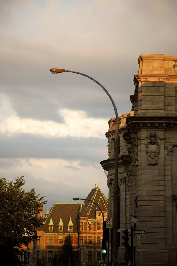 w montrealu, zdjęcie stock