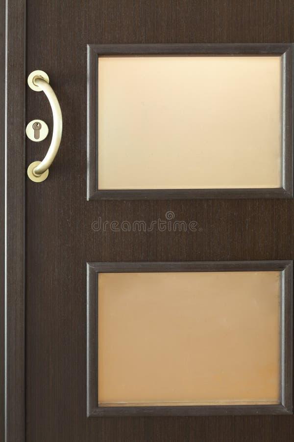 W nowym stylu drzwi zdjęcia royalty free