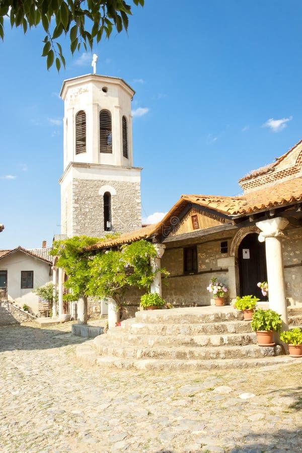 W Ohrid Bogorodica kościół zdjęcie stock