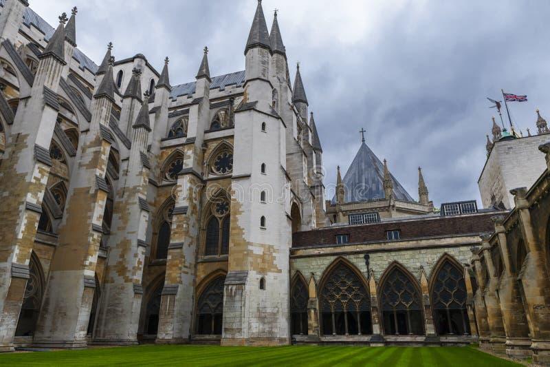 W opactwo abbey jardzie fotografia royalty free