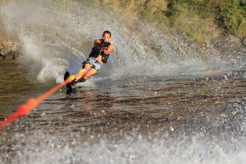 W parker wodny narciarstwo Arizona zdjęcie stock