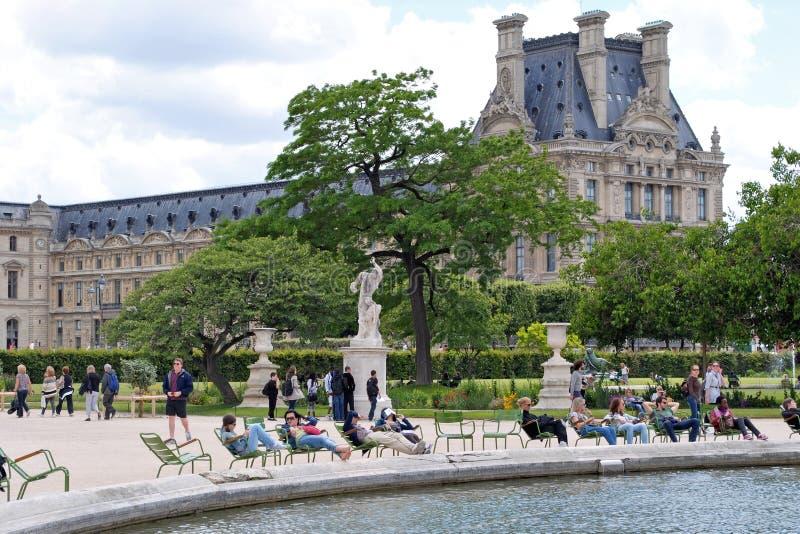 W parku Tuileries obraz stock