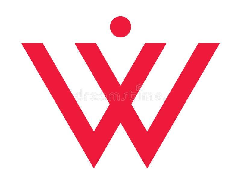 W per la donna immagine stock